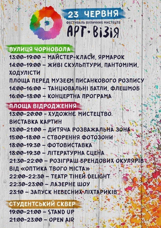 """Як провести літній дощовий вікенд у Франківську: """"зібрання вовчиць"""" та кольоровий День молоді 6"""