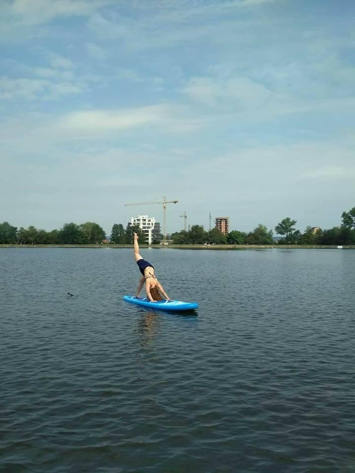 Франківців навчать практикувати йогу на воді (фотофакт)