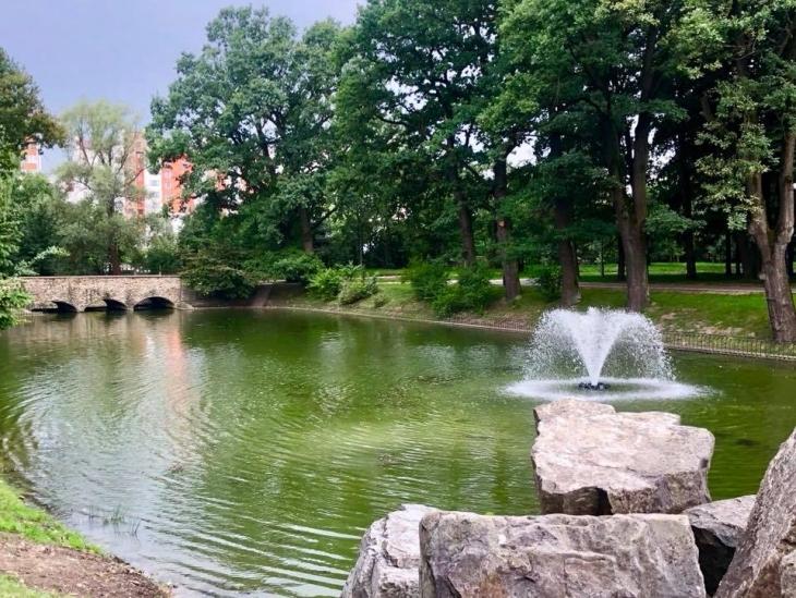 Міське озеро поповниться фонтаном і додатковим простором для відпочинку