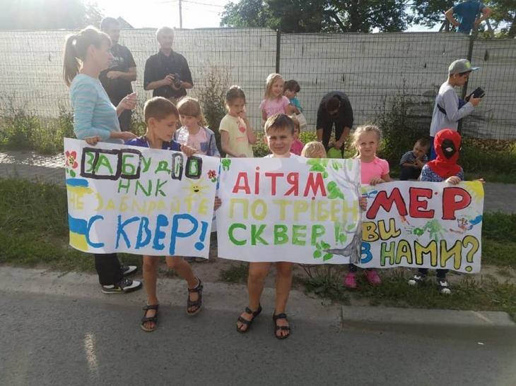 У Франківську мешканці Пасічної заблокували дорогу на Галич. ФОТО 2
