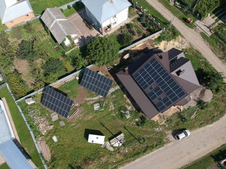 Сонячну електростанцію потужністю 33 кВт змонтовано в Снятині 1