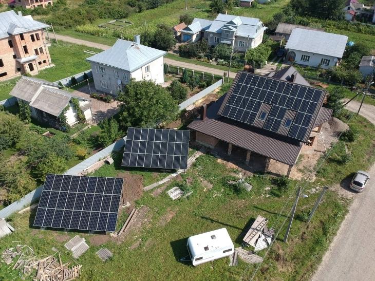 Сонячну електростанцію потужністю 33 кВт змонтовано в Снятині 2