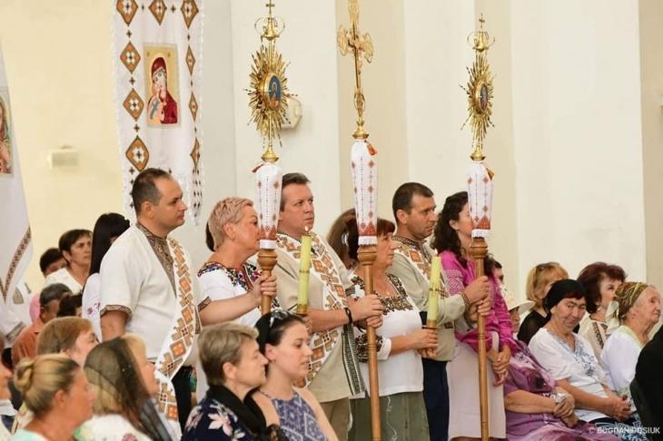 Одна з франківських парафій відзначила сьогодні храмове свято (фоторепортаж)