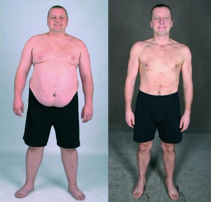 """Учасник шоу """"Зважені та щасливі"""" з Коломиї, який схуд наполовину, допомагає скидати вагу іншим 2"""
