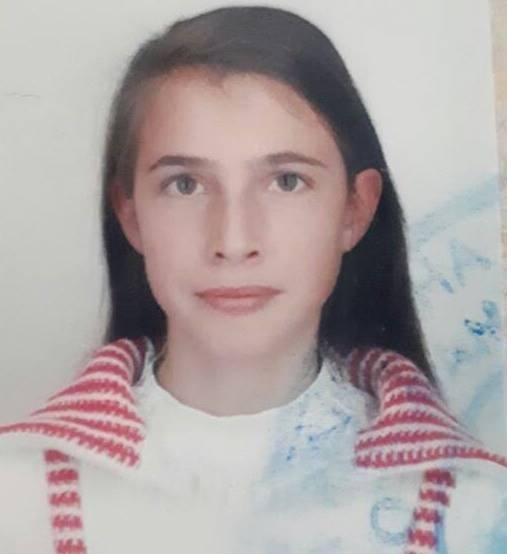 15-річна Крук Марія пішла з дому 19 серпня і не повернулася
