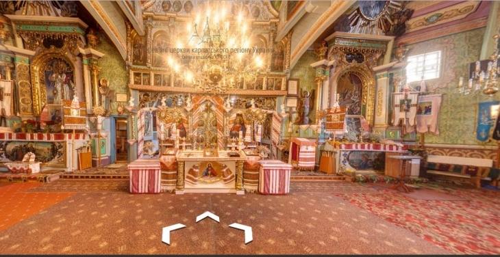 Google запускає віртуальний тур дерев'яними церквам Закарпаття