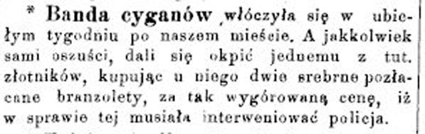 Станиславівські оголошення: цигани старого міста 1