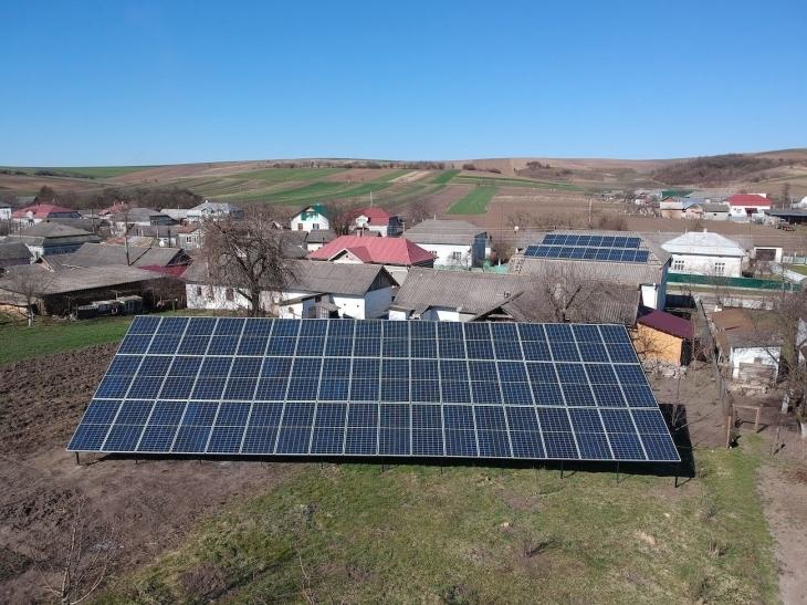 Сонячну електростанцію потужністю 25 кВт встановлено в Лучинцях 2