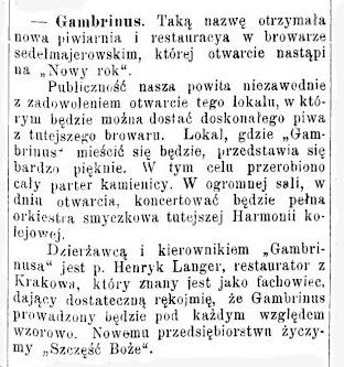 """Станиславівські оголошення: """"маленька Баварія"""" родини Седельмаєрів 2"""