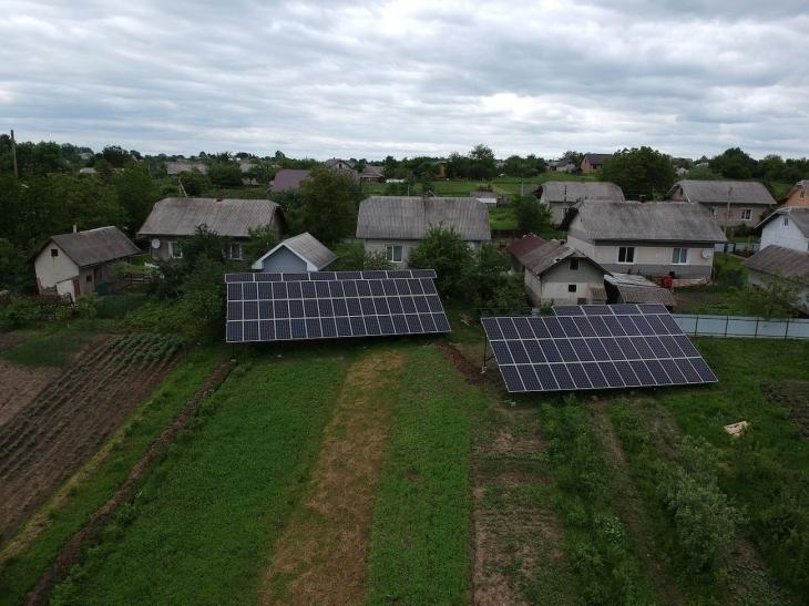 Сонячну електростанцію для дому потужністю 30 кВт встановлено в Лісному Хлібичині 2