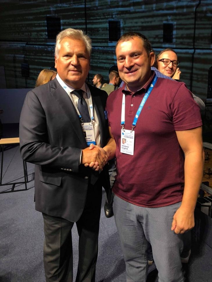 Новий лідер Володимир Гергелюк став учасником зустрічі YES. ФОТО, ВІДЕО 1