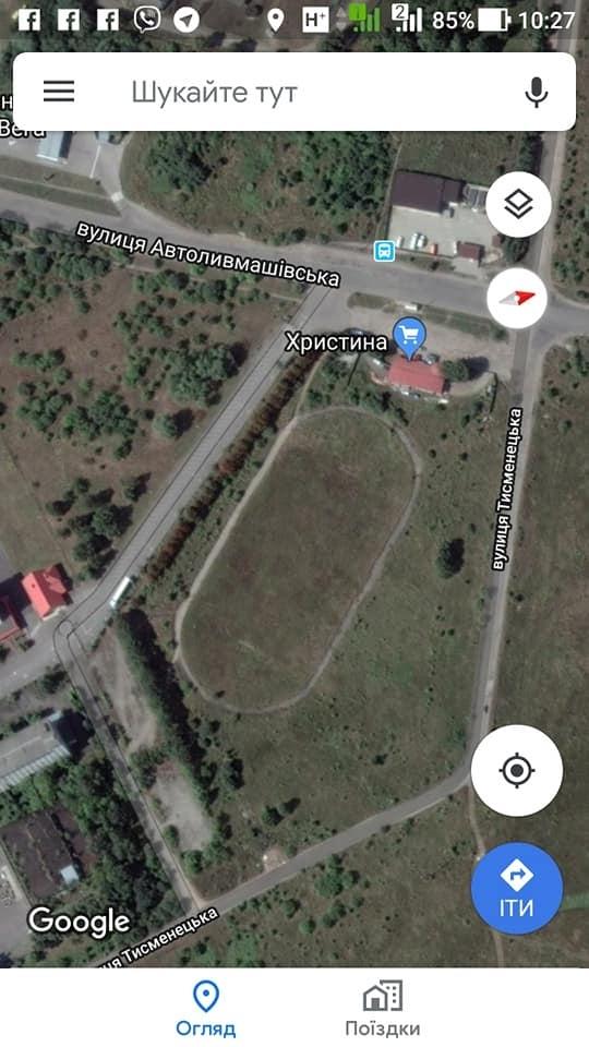 Прикарпатські атовці матимуть власний стадіон для проведення турнірів з футболу 2