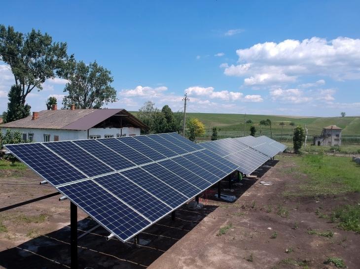 Сонячну електростанцію для дому потужністю 31 кВт змонтовано в Підвисокому 1
