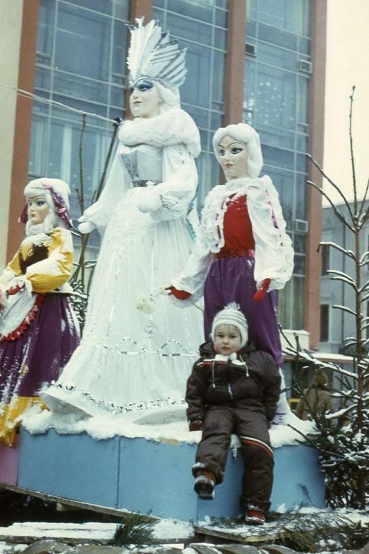 Новий рік у Франківську 80-их років