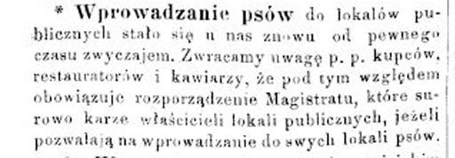 Станиславівські оголошення: що забороняли в місті сто років тому 2