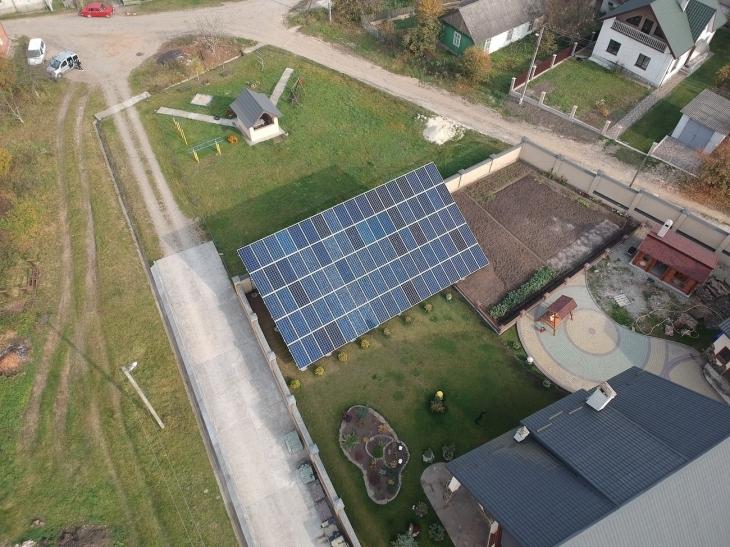 Сонячну електростанцію 30 кВт змонтовано в Бурштині. ФОТО 4