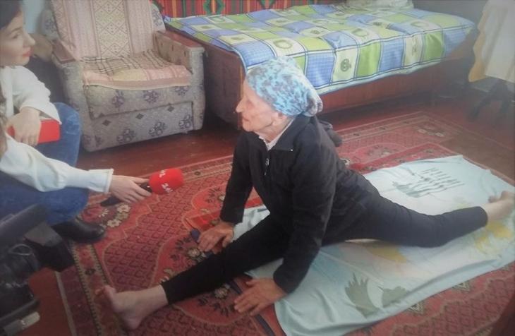 На шпагат в 93 роки: у Національному реєстрі рекордів України зафіксували нове досягнення. ФОТОФАКТ 1