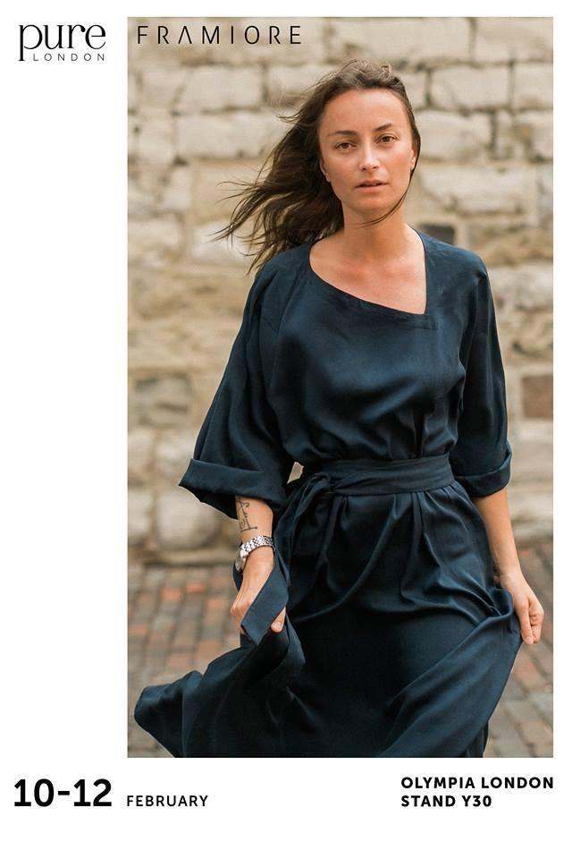 Франківський бренд Framiore – серед 700 колекцій на світовому фестивалі моди Pure London