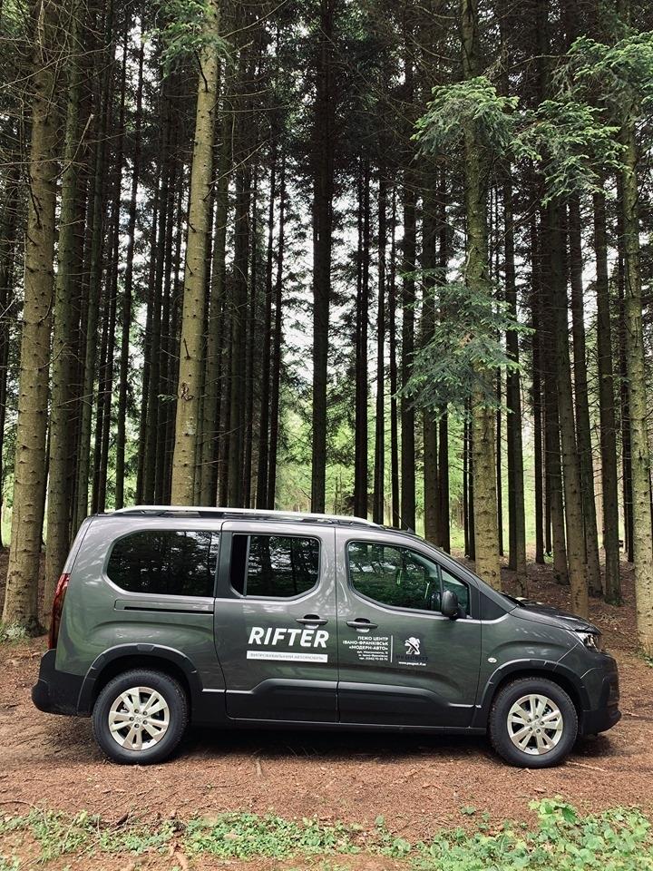 Як у лісах під Франківськом тестили NEW Peugeot Rifter. ФОТО 3