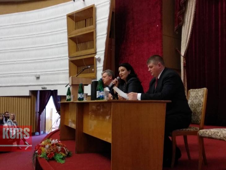 У Франківську Іванна Климпуш-Цинцадзе розповіла студентам про євроінтеграцію 1