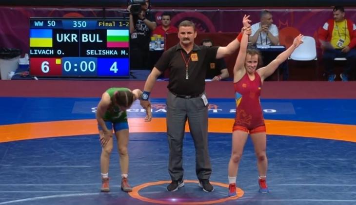 Борчиня з Прикарпаття здобула золото на чемпіонаті Європи
