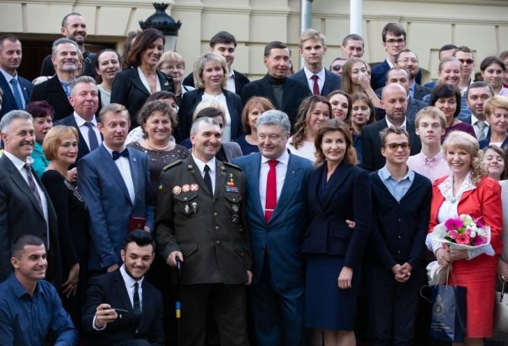 Зустріч Президента з освітянами з нагоди Дня працівників освіти