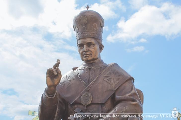 """Результат пошуку зображень за запитом """"До 100-ліття Єпископа Софрона Дмитерка в Погоні встановили пам'ятник."""""""