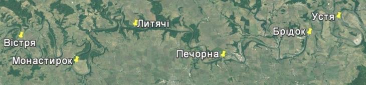 Дністер карта ГЕС