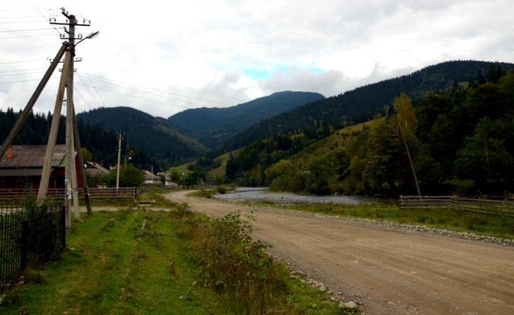 Село Зелене.