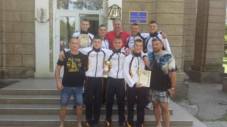 Прикарпатські курсанти привезли нагороди зі Всеукраїнської спартакіади 1