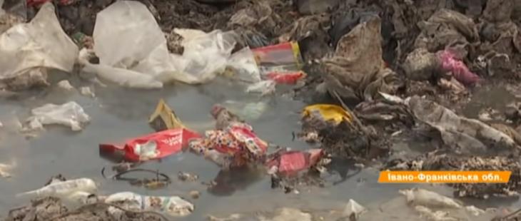 Сміттєві гори: нелегальне звалище на березі Дністра отруює воду. ВІДЕО 1