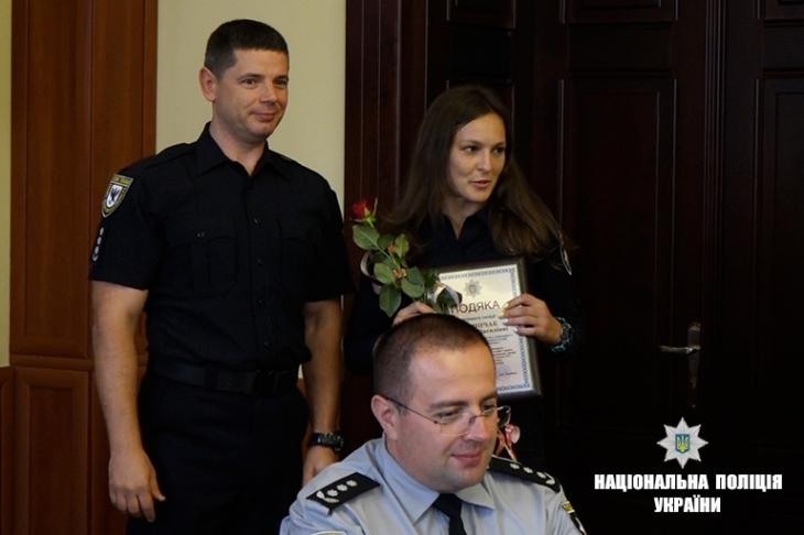 У прикарпатській поліції відзначили сімох патрульних 2