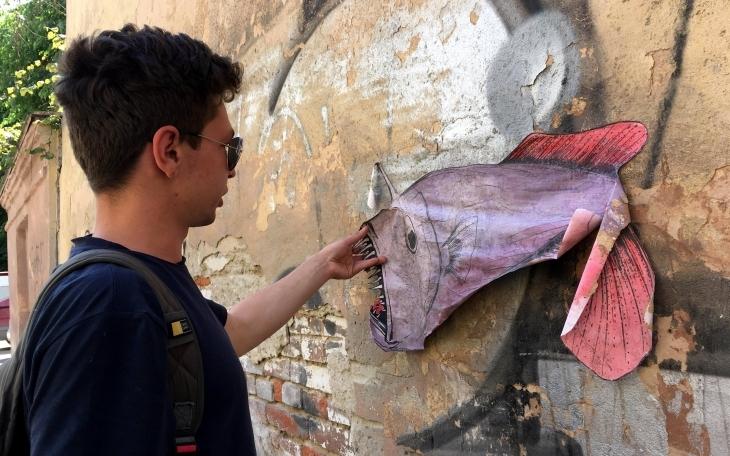 Портрети Франківська: Станіслав Круль, його дизайн і чудернацькі істоти на стінах міста 2
