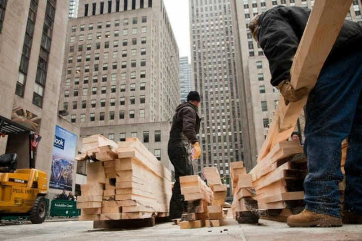 Цікаві факти про Різдвяну ялинку Нью-Йорка 7