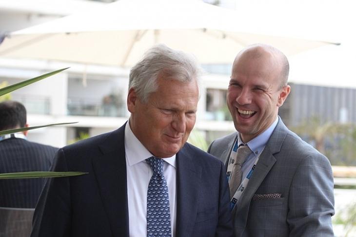 Олександр Квасневський та Вадим Пожарський на Форумі з енергетичної безпеки, Монако 2017