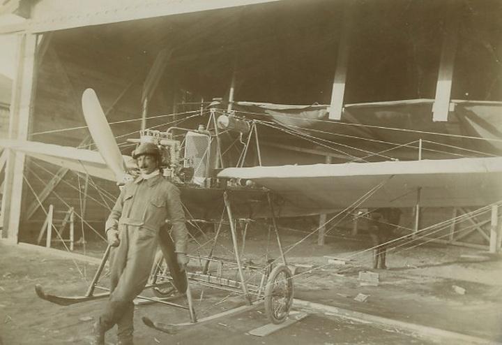 Як виглядав перший військовий аеродром у Станиславові. ФОТО 2