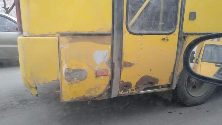 Маршрутний автобус №25, Івано-Франківськ Фото Валерія Бантуша