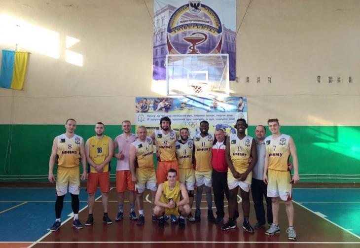 Франківські студенти-медики пробилась у фінал чотирьох чемпіонату області з баскетболу (фотофакт)