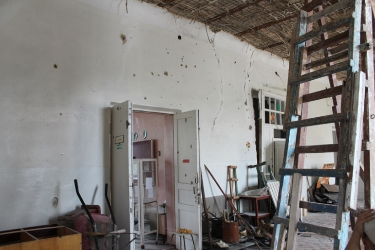 Frontline schools of Krasnogorivka: five in one 6