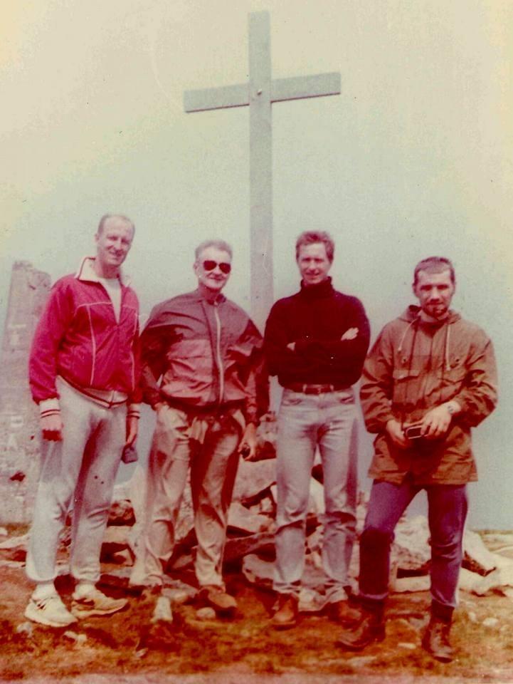 Сходження на Говерлу. Фото з архіву Дмитра Дзвінчука