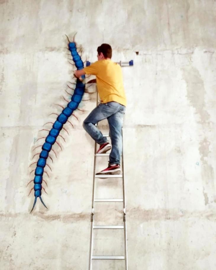 Портрети Франківська: Станіслав Круль, його дизайн і чудернацькі істоти на стінах міста 8