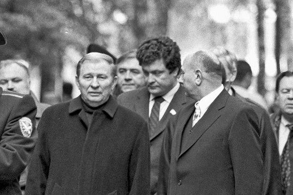 Порошенко і Кучма