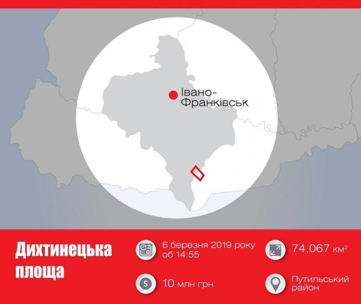 Ліцензію на видобуток вуглеводнів на Дихтинецькій площі можна придбати на аукціоні від 10 мільйонів гривень 2