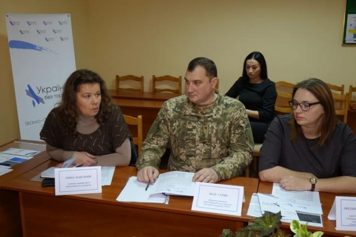 У Франківську обговорили факти катувань у місцях несвободи (фотофакт)