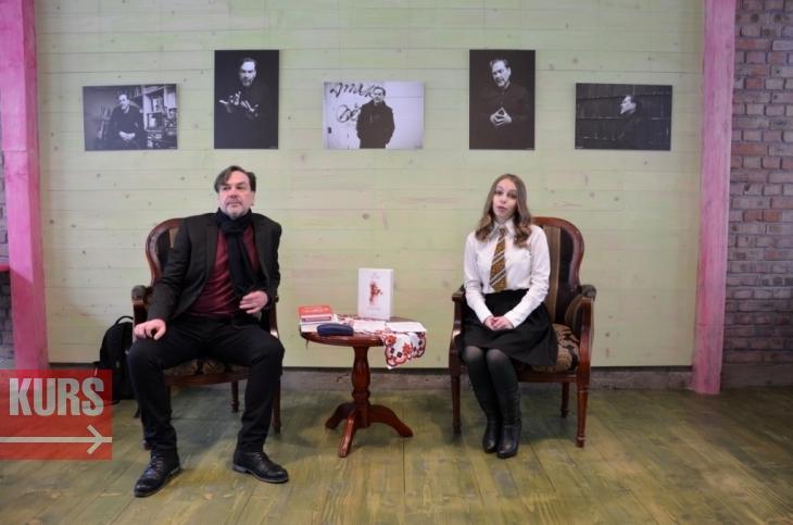 Андрухович розповів, як почав писати і про свої стосунки з донькою-письменницею (фото)