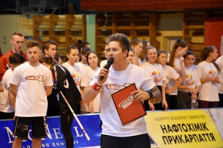 """""""JuniorZ"""": у Франківську відбувся спортивний фестиваль (відеосюжет)"""