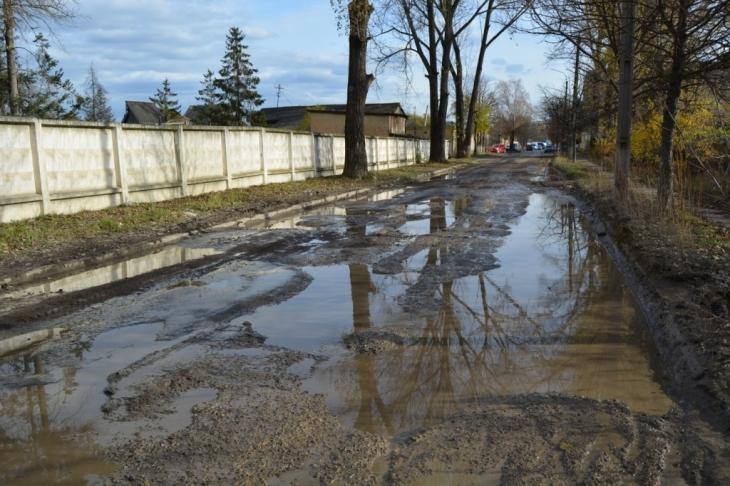 Сюди краще не їхати: 10 найгірших доріг Івано-Франківська 2
