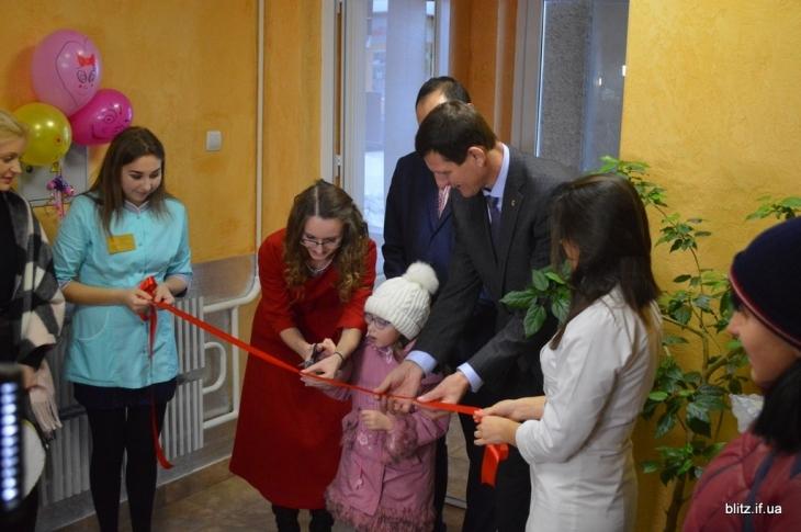 В Івано-Франківську відкрили оновлене педіатричне відділення
