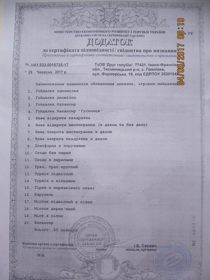Батьки два місяці просять директорку садка і керівництво міської освіти встановити гойдалку, придбану за депутатські кошти 6