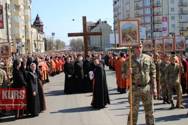 В останню неділю березня в Івано-Франківську пройде загальноміська Хресна дорога